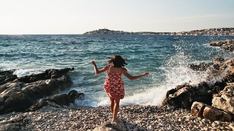 大声を出せるスポット:海