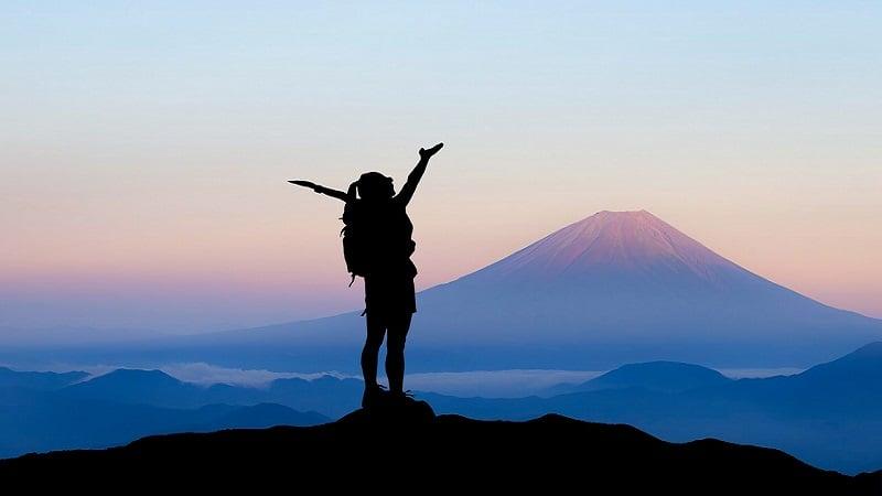 大声を出しやすいスポット:山
