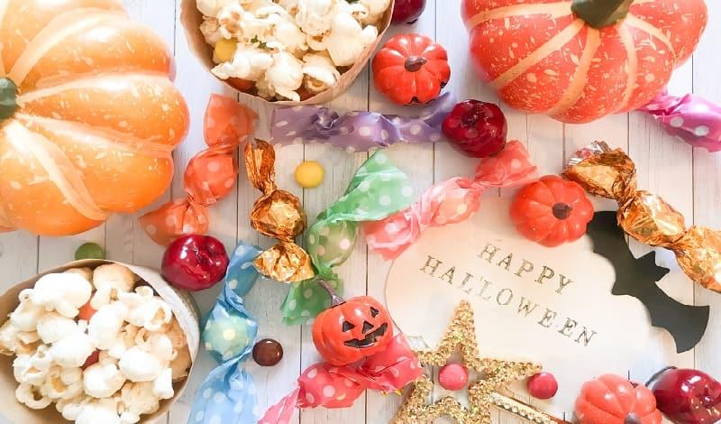ハロウィンで配るお菓子の適切な量と正しい渡し方
