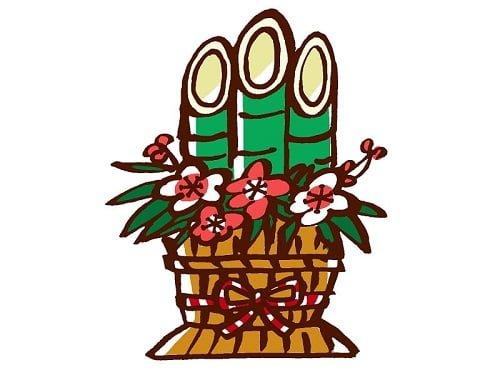 正月飾り「門松(かどまつ)」