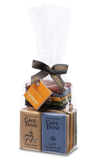 ベルギー生まれカフェタッセのミニタブレットチョコレート