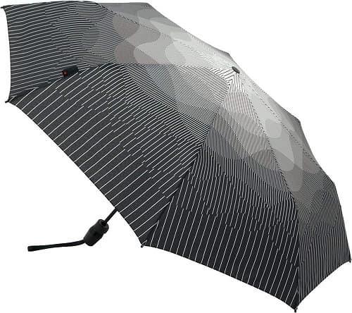 メンズ用日折りたたみ日傘のおすすめ「クニルプス(Knirps)」のNUNO濃霧