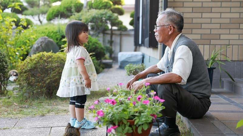 孫から祖父母へ贈る敬老の日のお祝いメッセージの例文