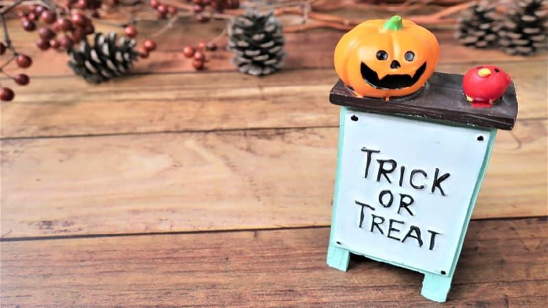 ハロウィンの合言葉「Trick or Treat(トリック・オア・トリート)」の意味と由来